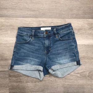 Pac Sun High Rise Shorts